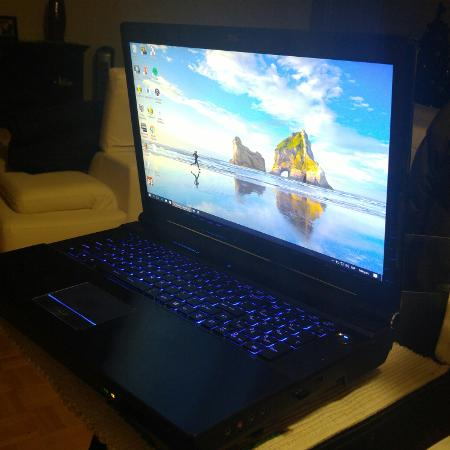 Used, Negotiable CLEVO P570 WM Gaming Laptop for sale  Canada