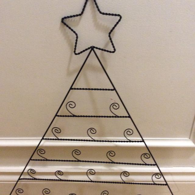 Find More Pier 1 Metal Christmas Tree Card Holder For Sale At Up To