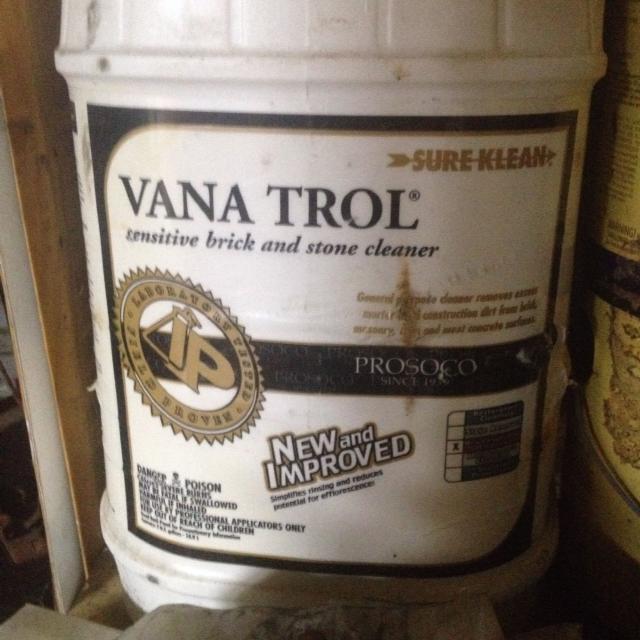 Vana Trol Sensitive Stone and Brick Cleaner