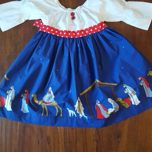 e94f4389d501 Best Eleanor Rose Nativity Christmas Dress Size 6-7 for sale in Greenville,  South Carolina for 2019