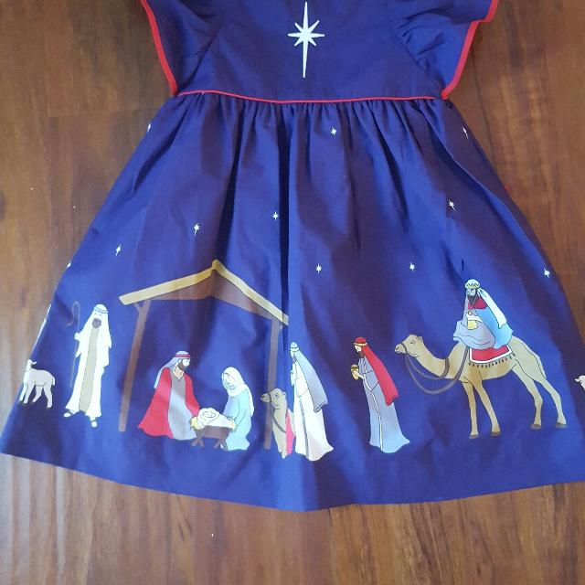 813b6269fc77 Best Eleanor Rose Silent Night Nativity Christmas Dress 5-6 for sale in  Greenville, South Carolina for 2019