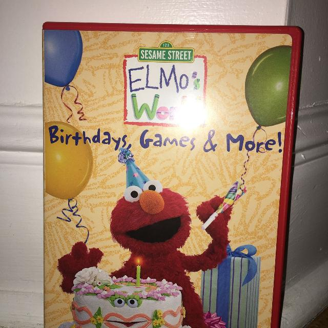Find More Elmo's World Birthday Games And More Dvd For