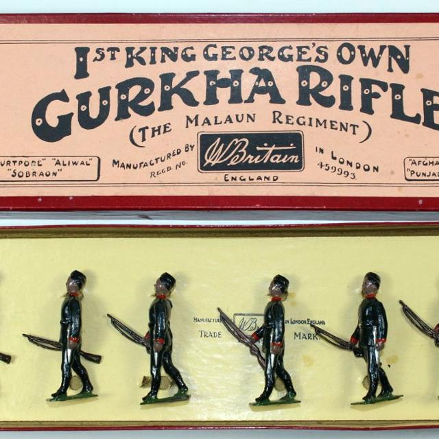 Antique collectible toy soldiers, perfect for Christmas!