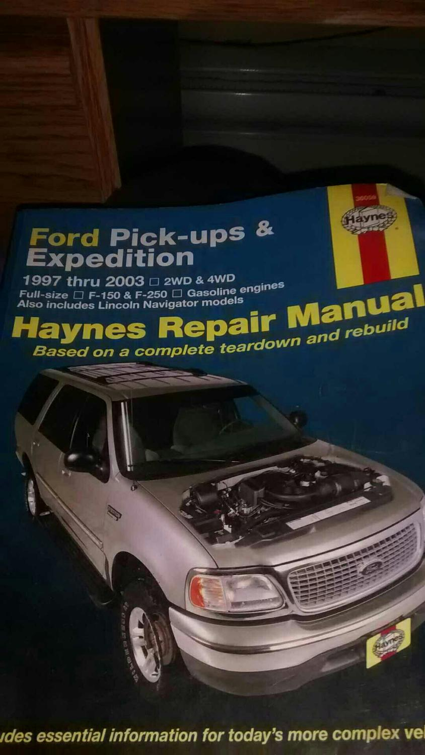 Best Haynes Repair Manual 1997-2003 Ford F150 F250 Expedition for sale in  Ladner, British Columbia for 2019