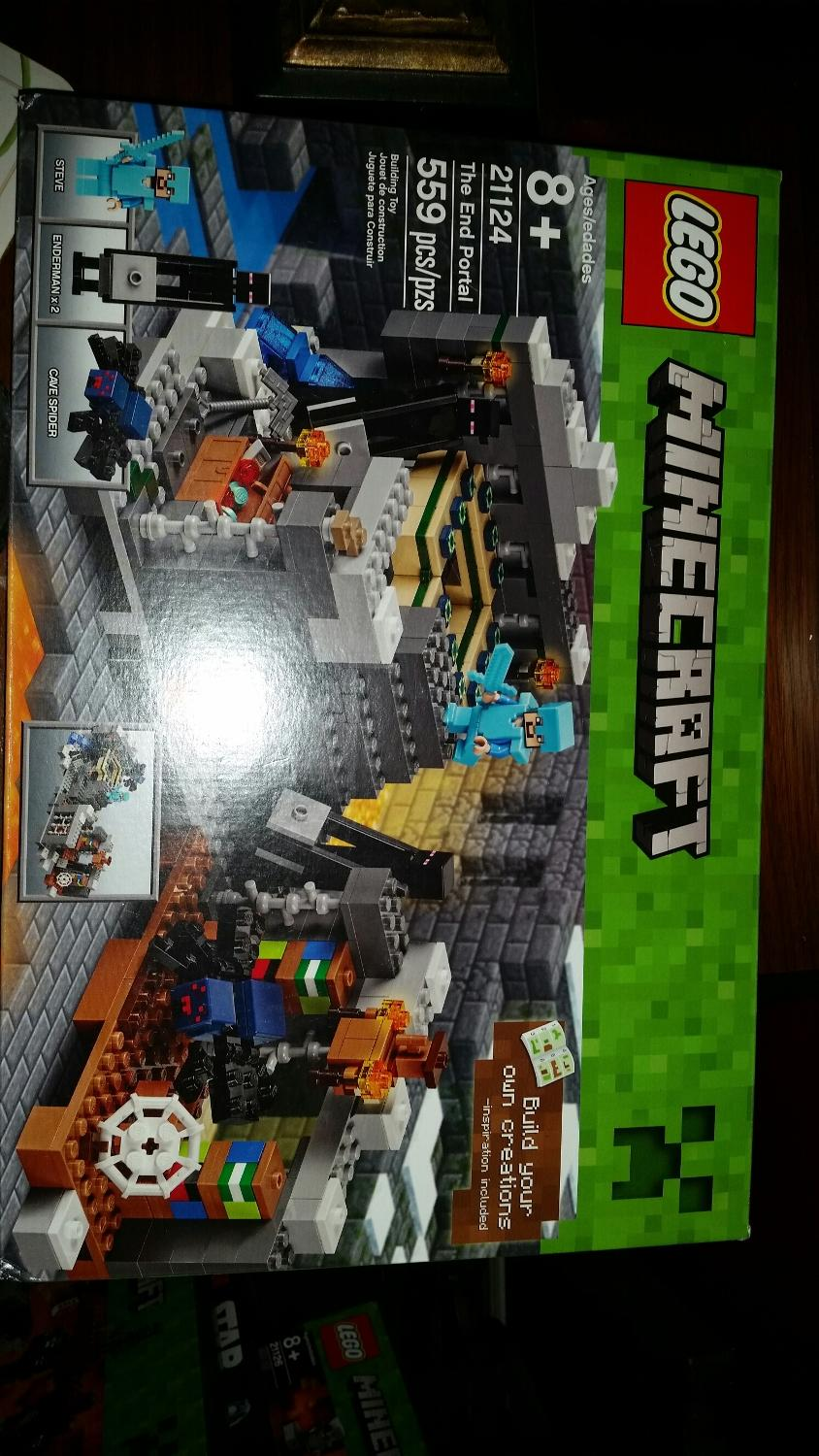 Find More Minecraft The End Portal For Sale At Up To 90 Off Lego 21124