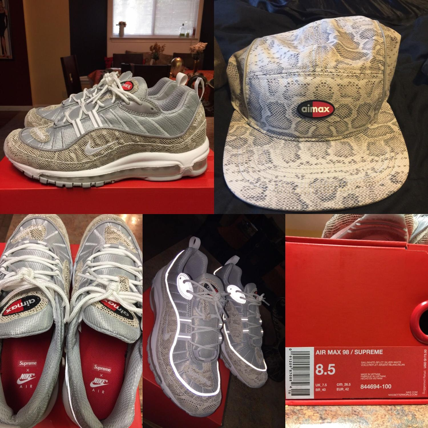 746c58abb553b Best Supreme X Nike Air Max 97   Matching Camp Cap for sale in Braun Road