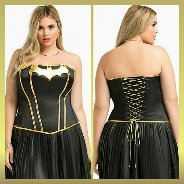 0f1ff0ceab Find more Nwt Torrid Batman Dc Comic Corset Bustier for sale at up ...