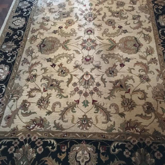 Find More 8x10 Imported Indian Hand Tufted Wool Rug For Sale At Up