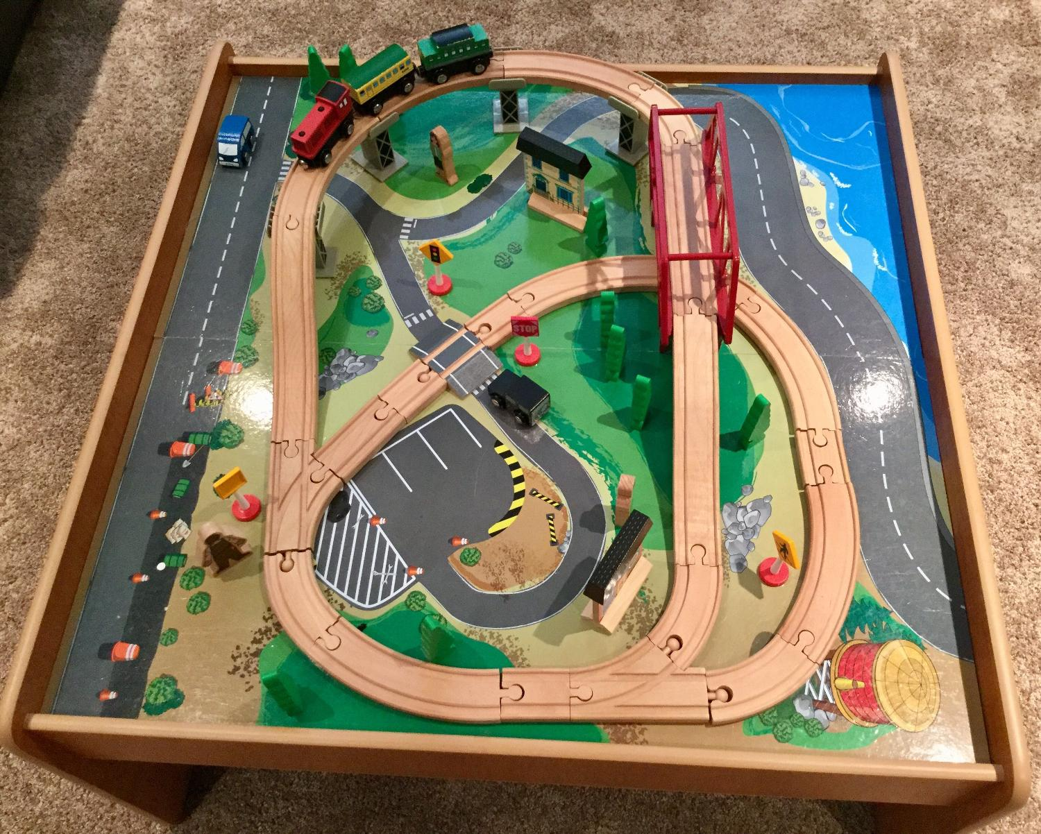 discovery kids train table instructions