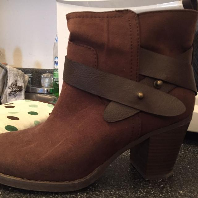 b7515d37c64 Best Dark Brown Chunky Heel Boots for sale in Yorkville