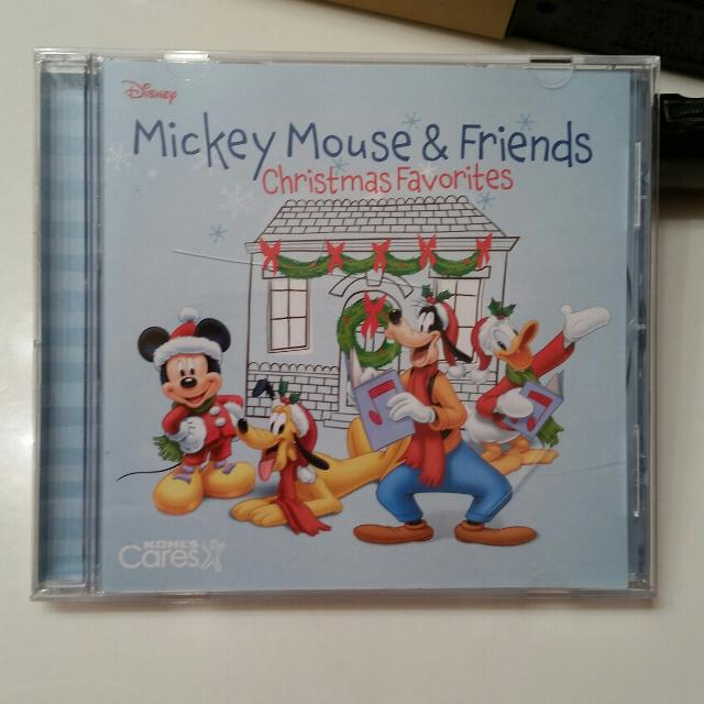 disney mickey mouse friends christmas favorites cd excellent condition see additonal pics for - Mickey Mouse Christmas Songs