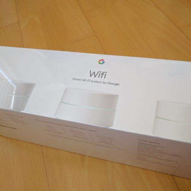 BRAND NEW Google WiFi 3 Pack Expandable Mesh Network Router AC1200  NLS-1304-25