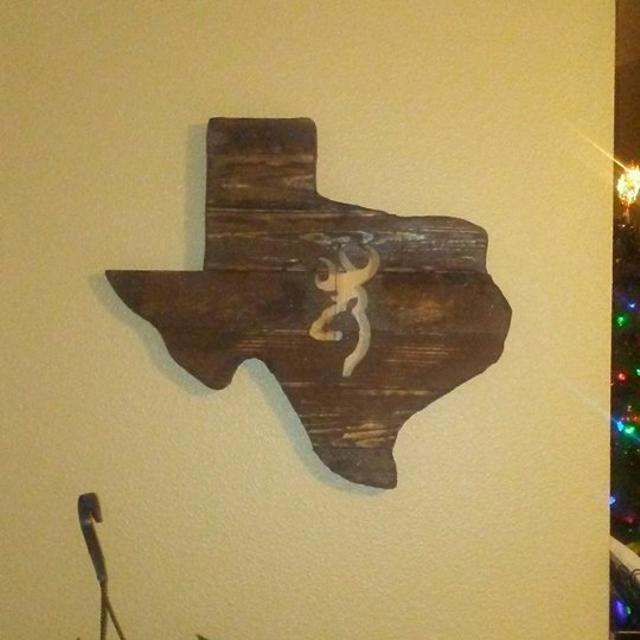 Best Texas Woodwork With Browning Emblem for sale in Brazoria County ...
