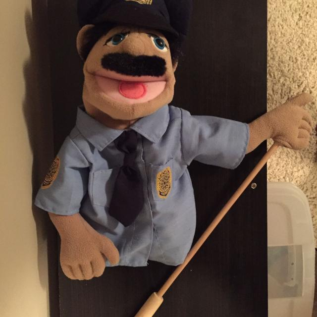 Find More Melissa And Doug Police Officer Puppet Euc For Sale At Up
