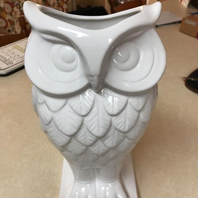 Best Ceramic White Owl Vase For Sale In Waycross Georgia For 2018