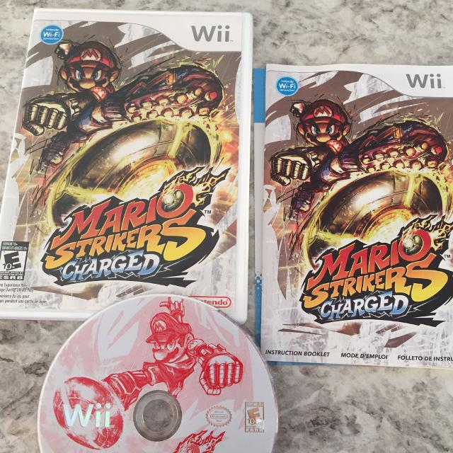 Find More Mario Strikers Charged Nintendo Wiiwii U For Sale At Up