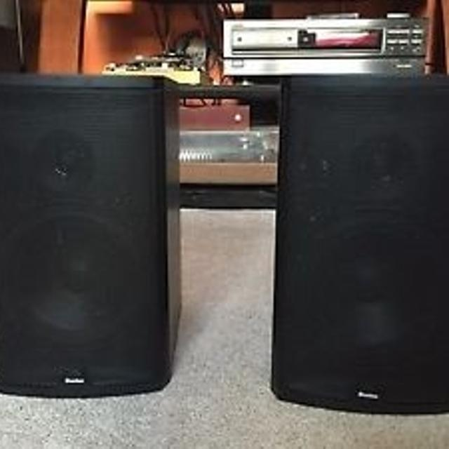 Boston Acoustics CR6 Audiophile Bookshelf Desktop Speakers