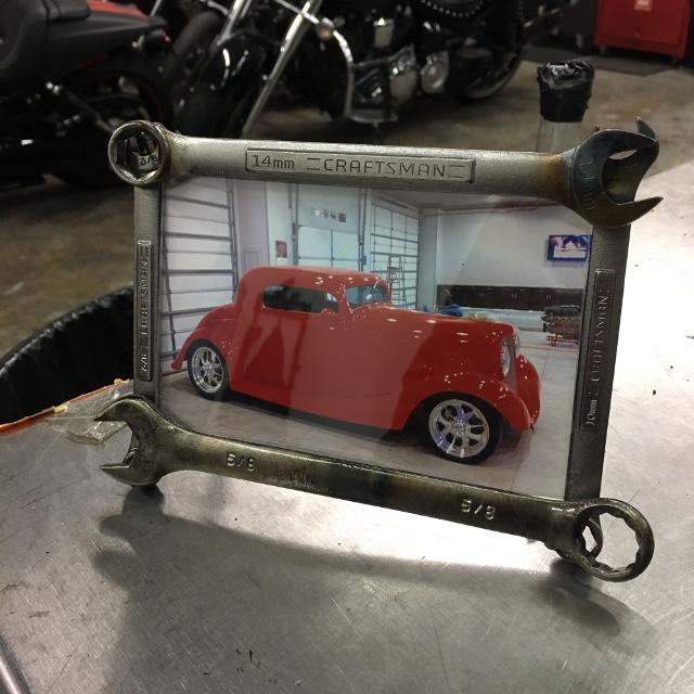 wrench picture frame - Wrench Picture Frame