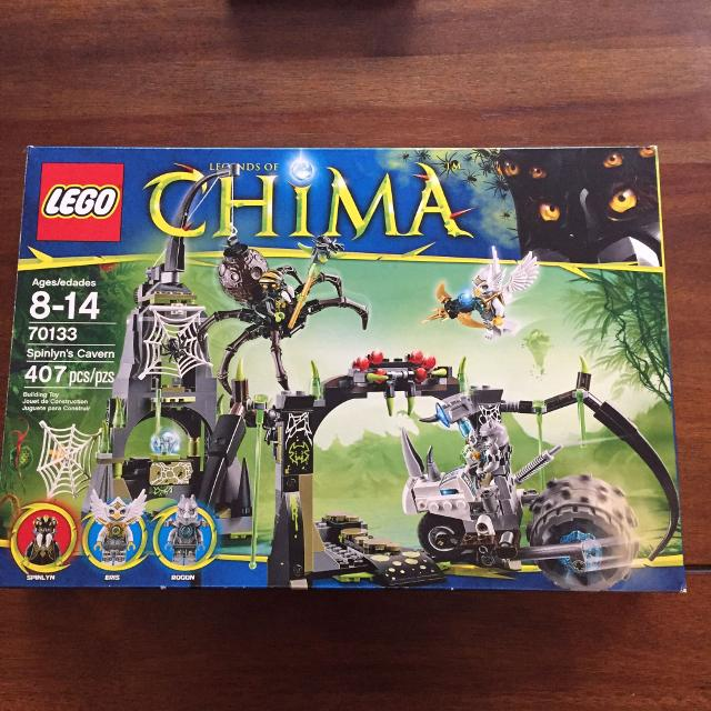 Find More Complete Set Of Lego Chima With Instructions In Original