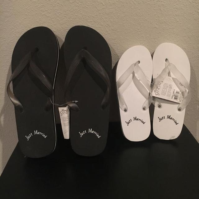 d3fefbcfd Find more Just Married Flip Flops for sale at up to 90% off