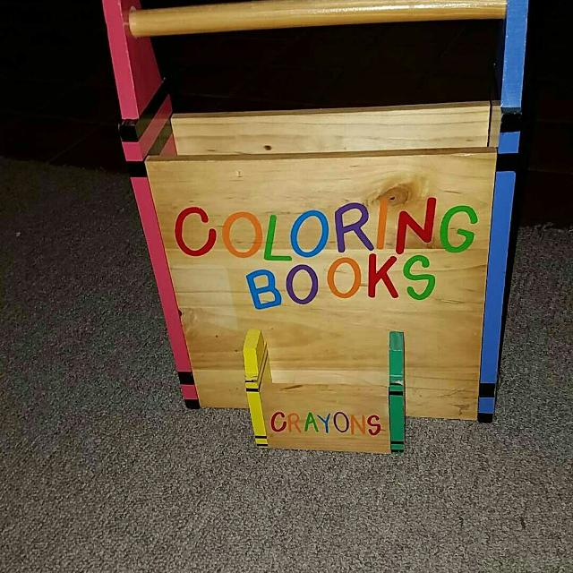 Find more Wooden Coloring Book Holder for sale at up to 90% off