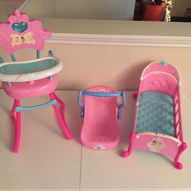 Find more Disney Princess Tollytots Limited Baby Doll High Chair ...