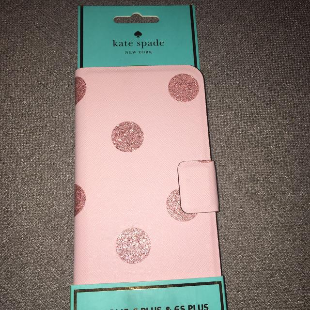 online store ff004 66125 *BRAND NEW* Kate Spade Glitter Dot Folio Phone Case for iPhone 6 Plus and  iPhone 6S Plus