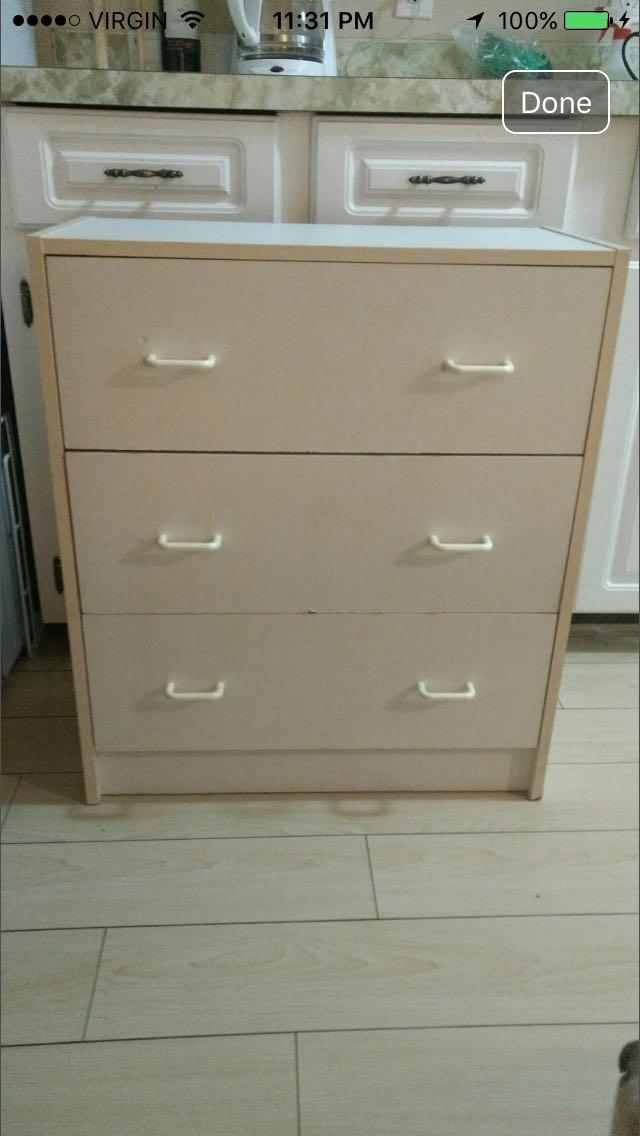 Find More Dresser With 3 Drawers For Sale At Up To 90 Off Victoria Bc
