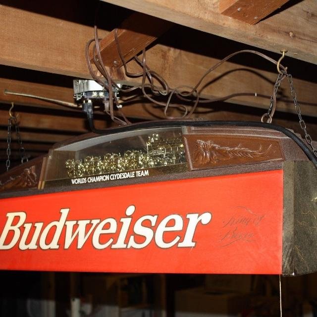 Find more budweiser pool table light 200 firm for sale at up to 90 off budweiser pool table light 200 firm greentooth Gallery
