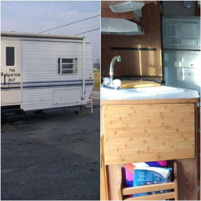 2000 27 ft  Sunnybrook Travel Trailer