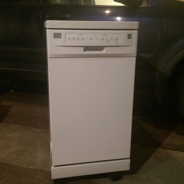 Find more Kenmore Apartment Size Portable Dishwasher for sale at ...