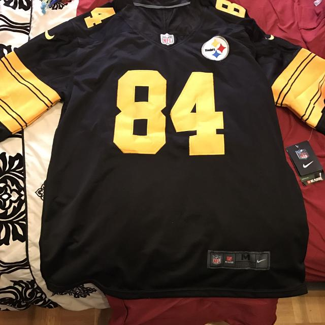 quality design a1d47 a6be9 Steelers colour rush jersey