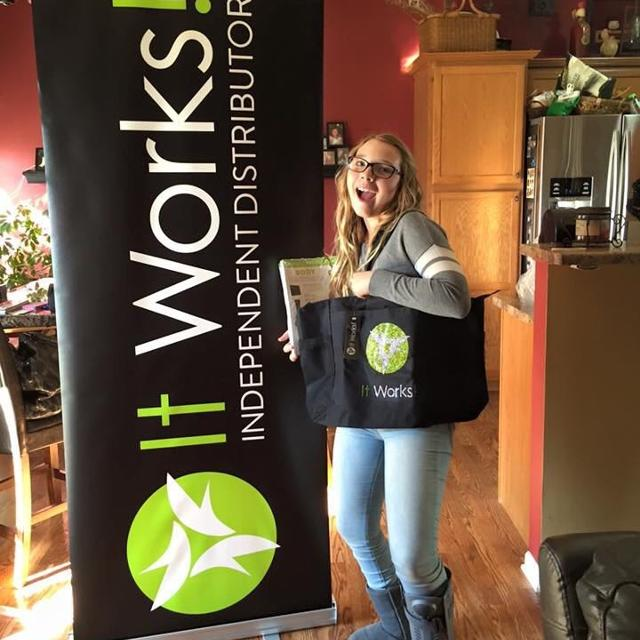 Find More It Works Independent Distributor Banner And Tote For Sale