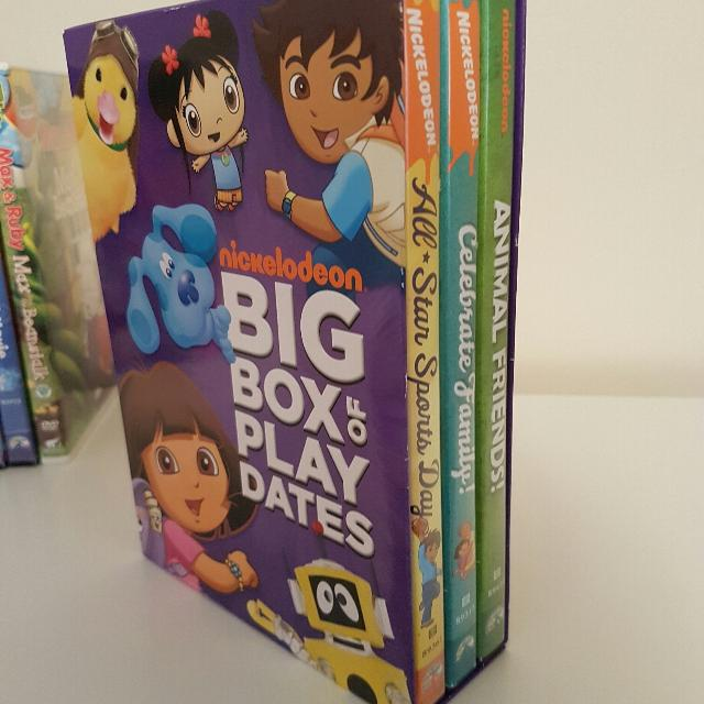 Nickelodeon Big Box DVD Set Dora etc