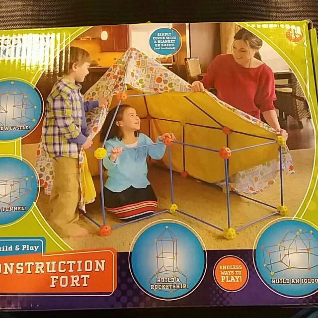 Find More Discovery Kids Construction Fort For Sale At Up To 90 Off