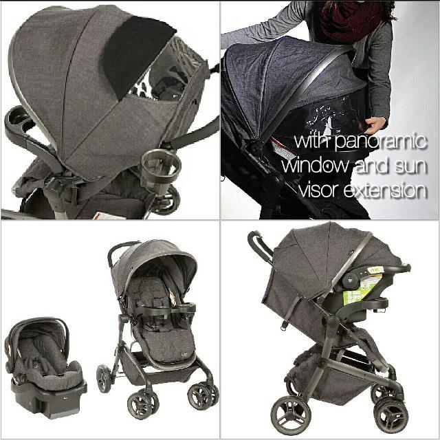 Safety First Lux Stealth Stroller Car Seat
