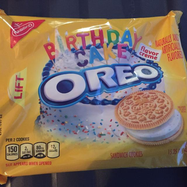 Find More Birthday Cake Oreos Found In The Usa For Sale At Up To