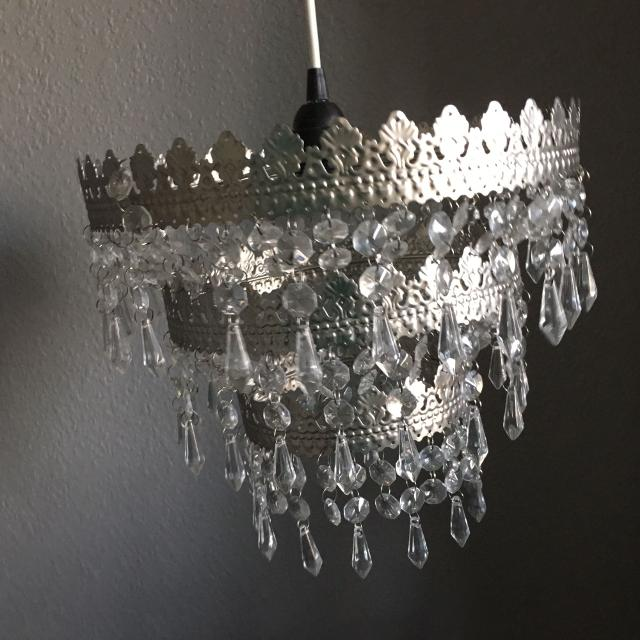 Sold Ikea Rimfrost Three Tiered Chandelier Lamp