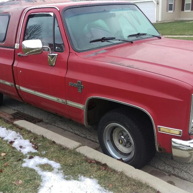 Chevrolet Camper Shell: Best 85' Chevy C10 Silverado New Engine W/camper Shell For