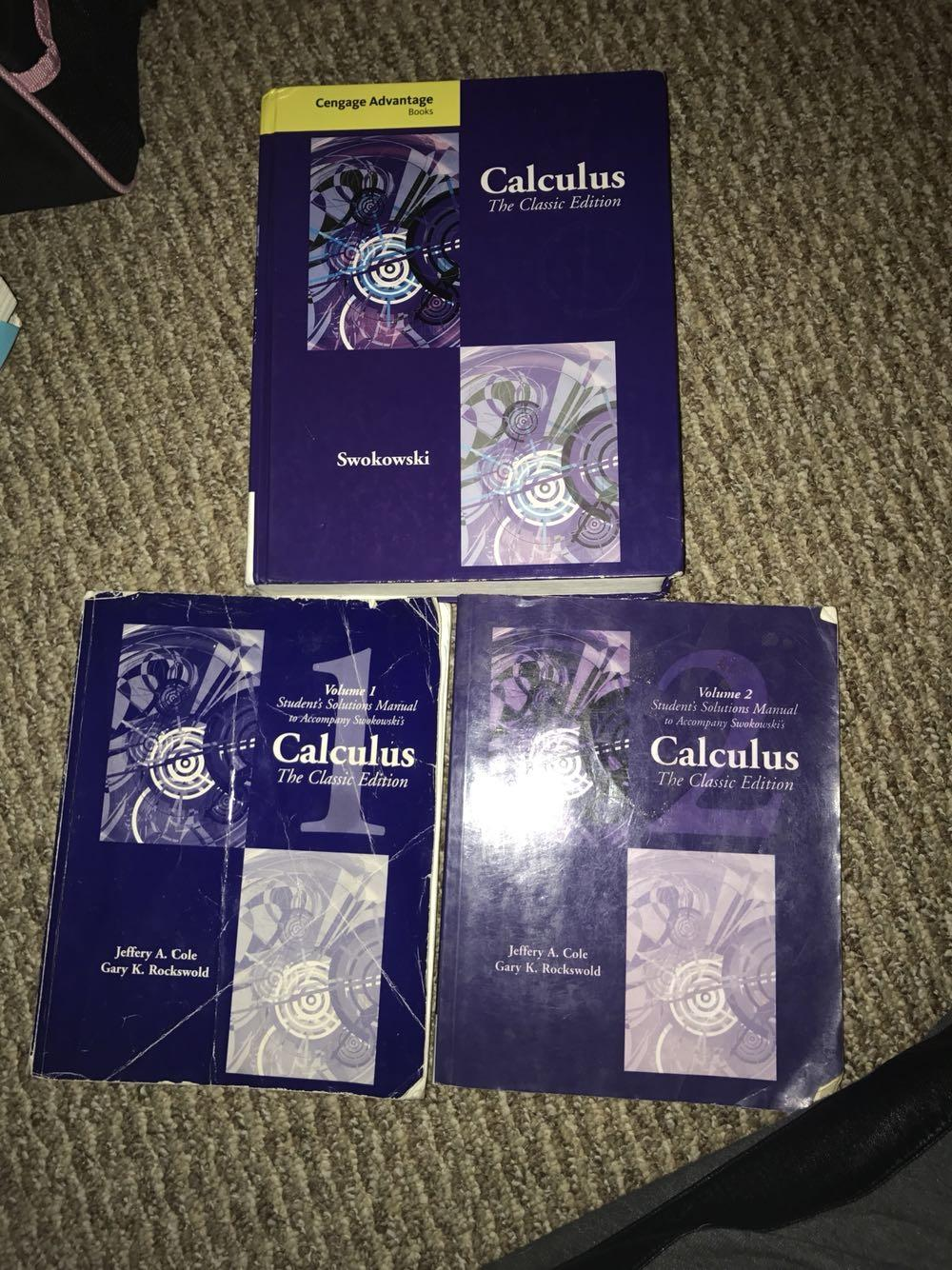 Best Calculus Classic Edition (swokowski) for sale in Champaign, Illinois  for 2018
