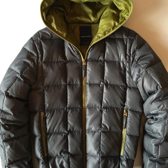 8dce133f Find more Zara Men's Feather Down Bomber Jacket - Like New! for sale ...
