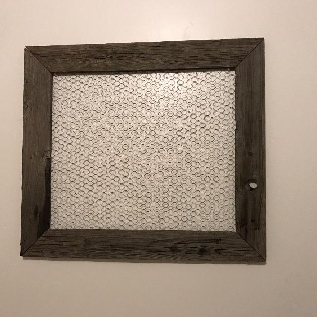 Best Rustic Wood Frame With Chicken Wire for sale in El Dorado ...