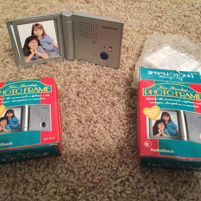 Find more New 2 Voice Recording Photo Frames - Radio Shack for sale ...