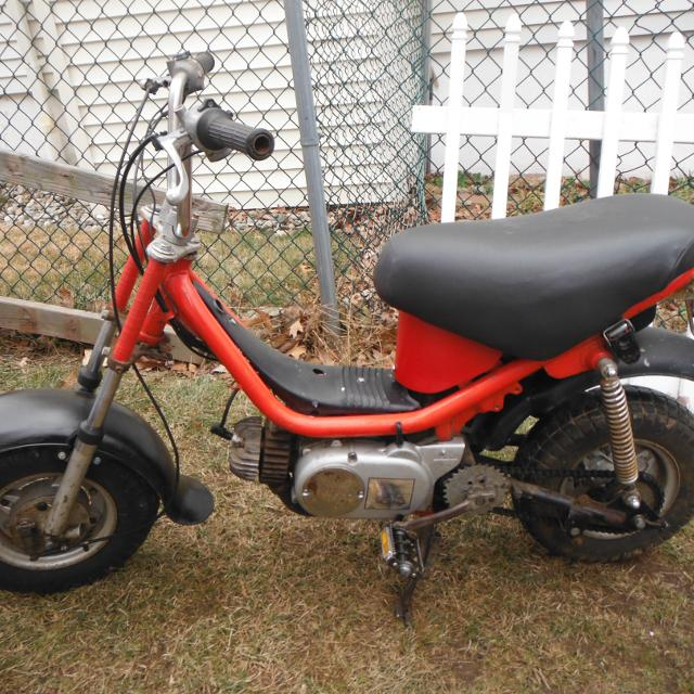 Best 1978 Yamaha Chappy 2 Speed Automatic Scooter Mini Bike - Moped ...