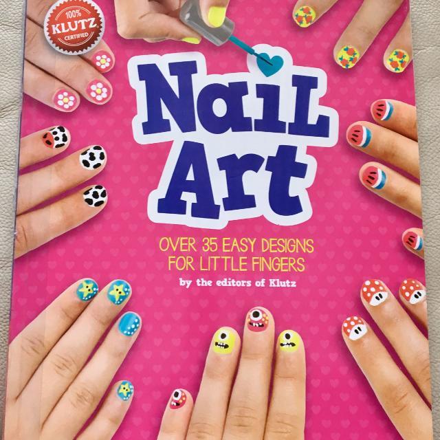 Best Euc Kids Nail Art Book For Sale In North Delta British