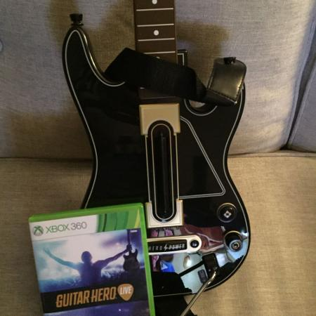 Used, Xbox 360 Guitar Hero Live for sale  Canada