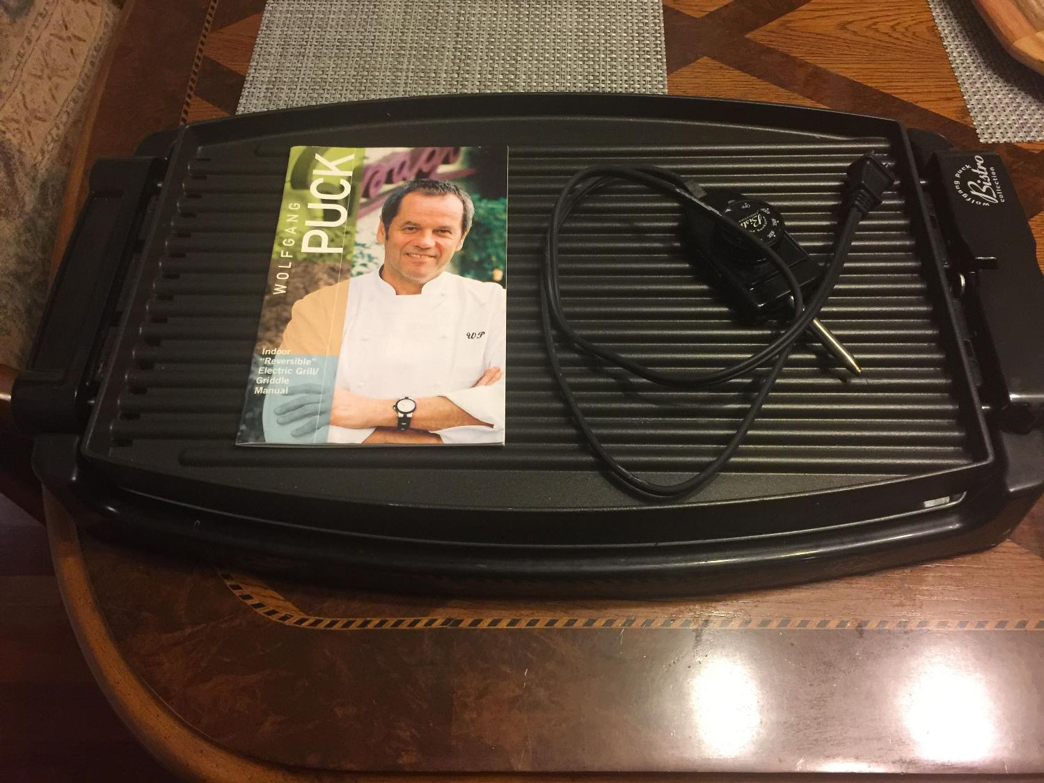 Find More Wolfgang Puck Reversible Electric Grill Griddle