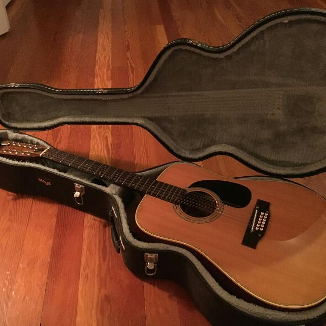 ebd5a2398d Best Fender 12 String Acoustic Guitar (with Case) for sale in Victoria,  British Columbia for 2019