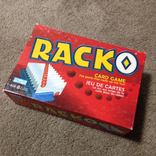 Find More Racko Card Game For Sale At Up To 90 Off