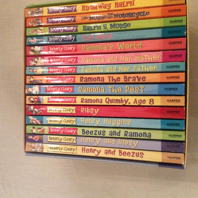 Set of 15 Classic Beverly Cleary Ramona Books